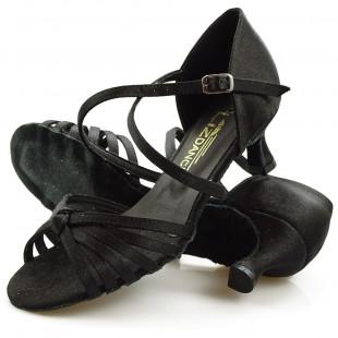 Sandały do tańca, 01, czarne satyna