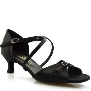Sandały do tańca, 33, czarne satyna