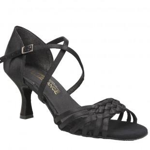 Sandały do tańca, 50, czarna satyna