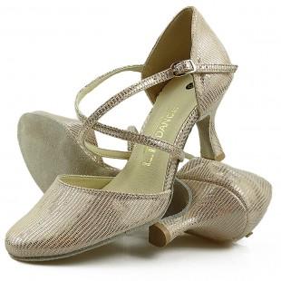 Sandały do tańca, 26, złoty szampański