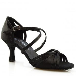 Sandały do tańca, 38, czarne satyna