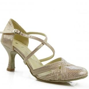 Sandały do tańca, 03C, złoty szampański
