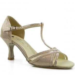 Sandały do tańca, 15PX, złoty szampański